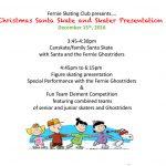 Christmas Santa Skate and Skater Presentation